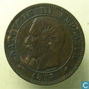 Frankreich 2 Centime 1853 (K)