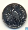 Malawi 5 Tambala 1989