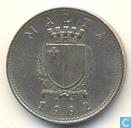Malta 10 cents 1992