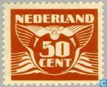 Postage Stamps - Netherlands [NLD] - Flying Dove