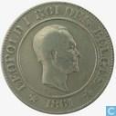 Belgium 20 centimes 1861