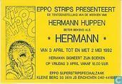 Hermann tentoonstelling en signeersessie uitnodigingskaart