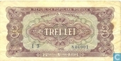 Roemenië 3 Lei 1952