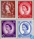 Queen Elizabeth (Wilding)-Meervoudiger crowns