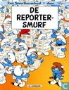 Strips - Smurfen, De - De Reportersmurf