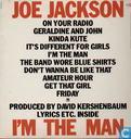 Schallplatten und CD's - Jackson, Joe - I'm the Man