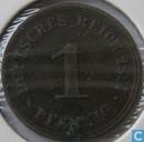 Empire allemand 1 pfennig 1887 (A)