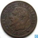 Frankrijk 1 centime 1856 (BB)