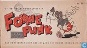 Strips - Fokkie Flink - Uit het veelbewogen leven van Fokkie Flink de superspeurder