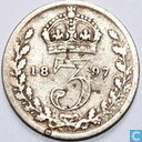 United Kingdom 3 pence 1897