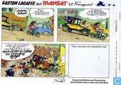 Comic Books - Guust - Lagaffe chez Transat