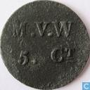5 cent 1841-1859 Rijksgesticht Veenhuizen V3