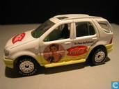 Model cars - Matchbox - Mercedes-Benz ML 430 'Coca-Cola'