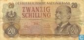 Austria 20 Schilling 1956