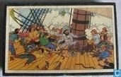 """Comics - Kuifjesbon producten - Kuifje's puzzle hout """"Het geheim van de Eenhoorn"""""""