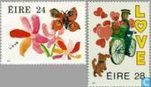 1987 LOVE stamps (IER 228)