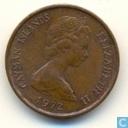 Îles Caïmans 1 cent 1972