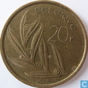 Belgium 20 francs 1982 (FRA)