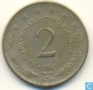 Joegoslavië 2 dinara 1974