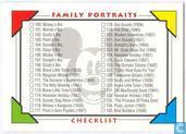 Checklist Family Potraits