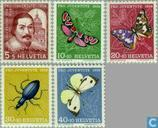 1956 Butterflies and Insects