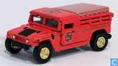 Modellautos - Johnny Lightning - Hummer H1 'Coca Cola'