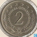 Joegoslavië 2 dinara 1971