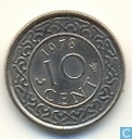 Suriname 10 cent 1978