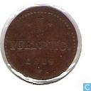 Munten - Hessen-Darmstadt - Hessen-Darmstadt 1 pfennig 1819 (G.H.S.M)