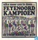 Niks meer aan te doen... Feyenoord kampioen
