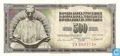 Joegoslavië 500 Dinara 1981