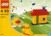 Lego 4026 Create Your Dreams (4027 Build and Imagine)