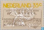 Postage Stamps - Netherlands [NLD] - 250 years of State Lottery