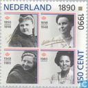 Postage Stamps - Netherlands [NLD] - Oranje Women on the Throne