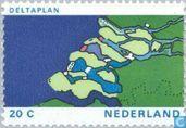Postzegels - Nederland [NLD] - Haringvlietdam