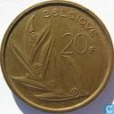 Belgium 20 francs 1980 (FRA)