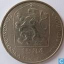 Tsjecho-Slowakije 50 haleru 1984