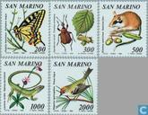 1990 Fauna en flora (SAN 394)