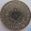 Monnaies - France - France 1 franc 1976