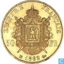 France 50 francs 1862 (BB)