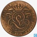 Belgique 5 centimes 1842