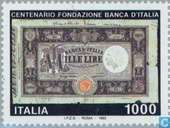 Postage Stamps - Italy [ITA] - State Bank 100 years