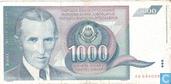 Jugoslawien 1.000 Dinara 1991
