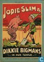Jopie Slim & Dikkie Bigmans in hun tuintje