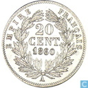 France 20 centimes 1860 (A)