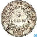 Frankrijk 5 francs 1809 (A)