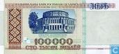 Bélarus 100.000 Roubles 1996