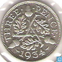 Coins - United Kingdom - United Kingdom 3 pence 1934