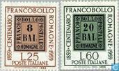 Postzegeljubileum Romagna