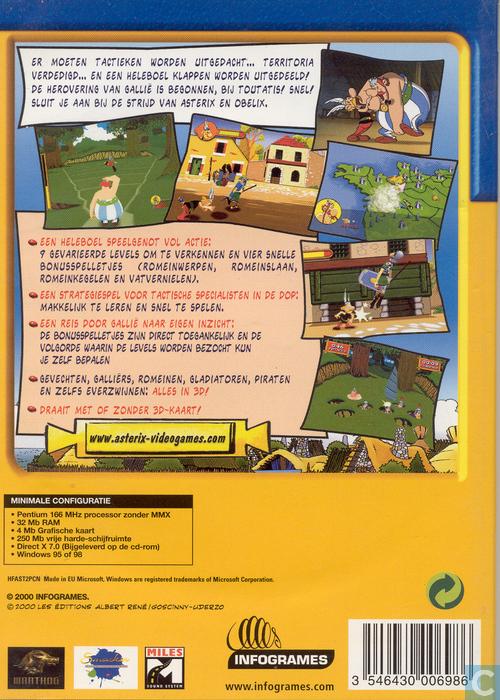 Asterix: De Strijd om Gallië - PC - Catawiki